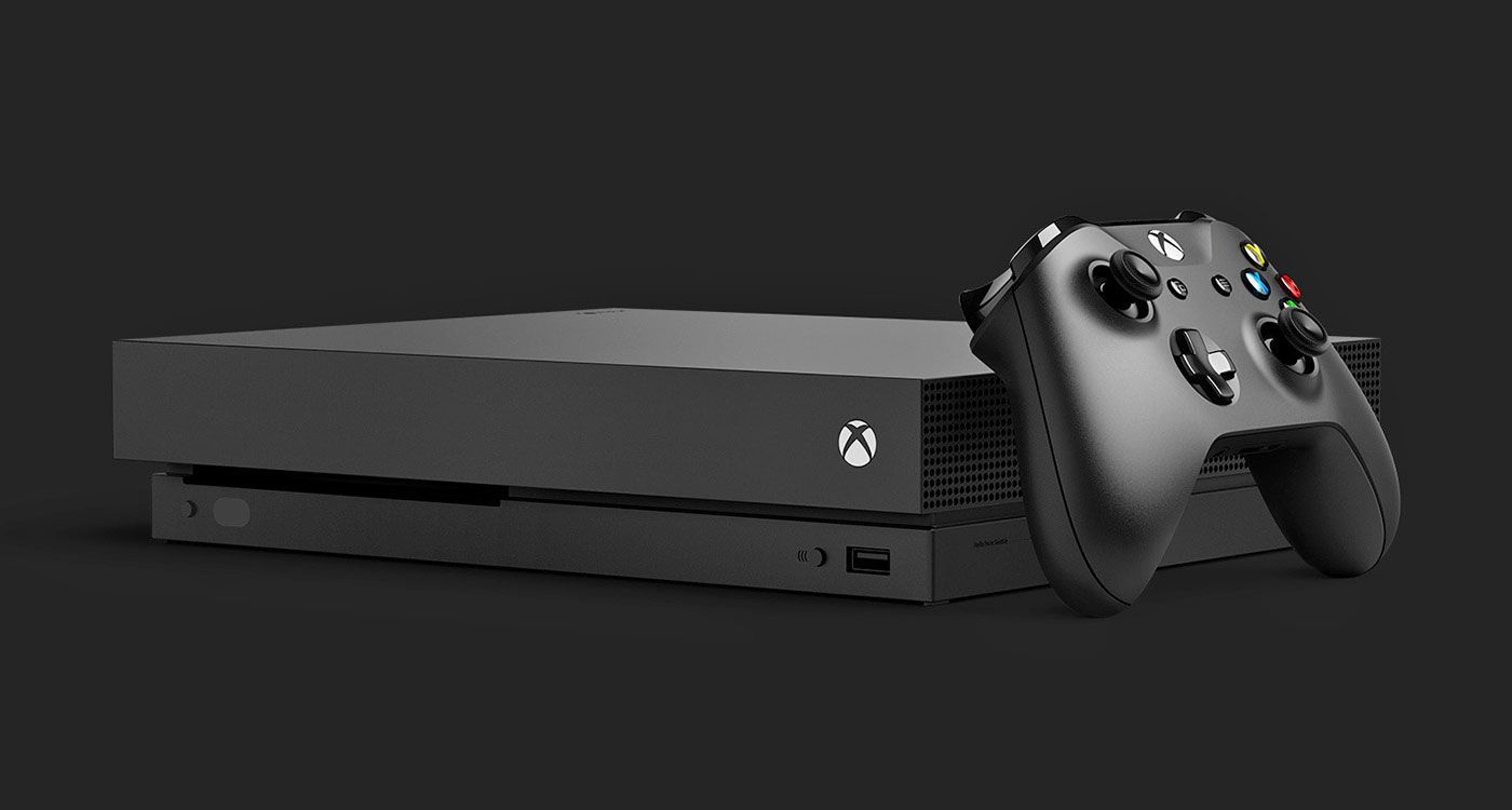 Introducing the new Xbox One X
