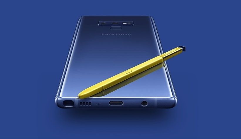 Introducing the Samsung Galaxy Note 9