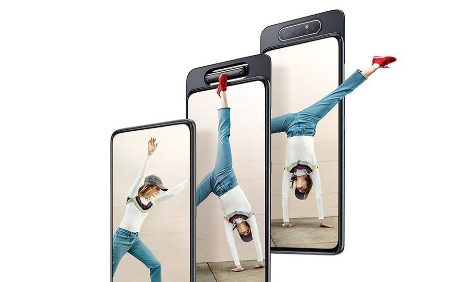 Introducing the Samsung Galaxy A80