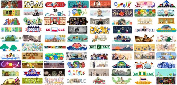 The Best Google Doodles of 2017
