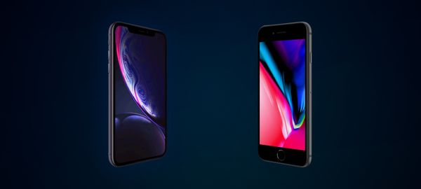 iPhone XR vs iPhone 8 (Head-to-Head)